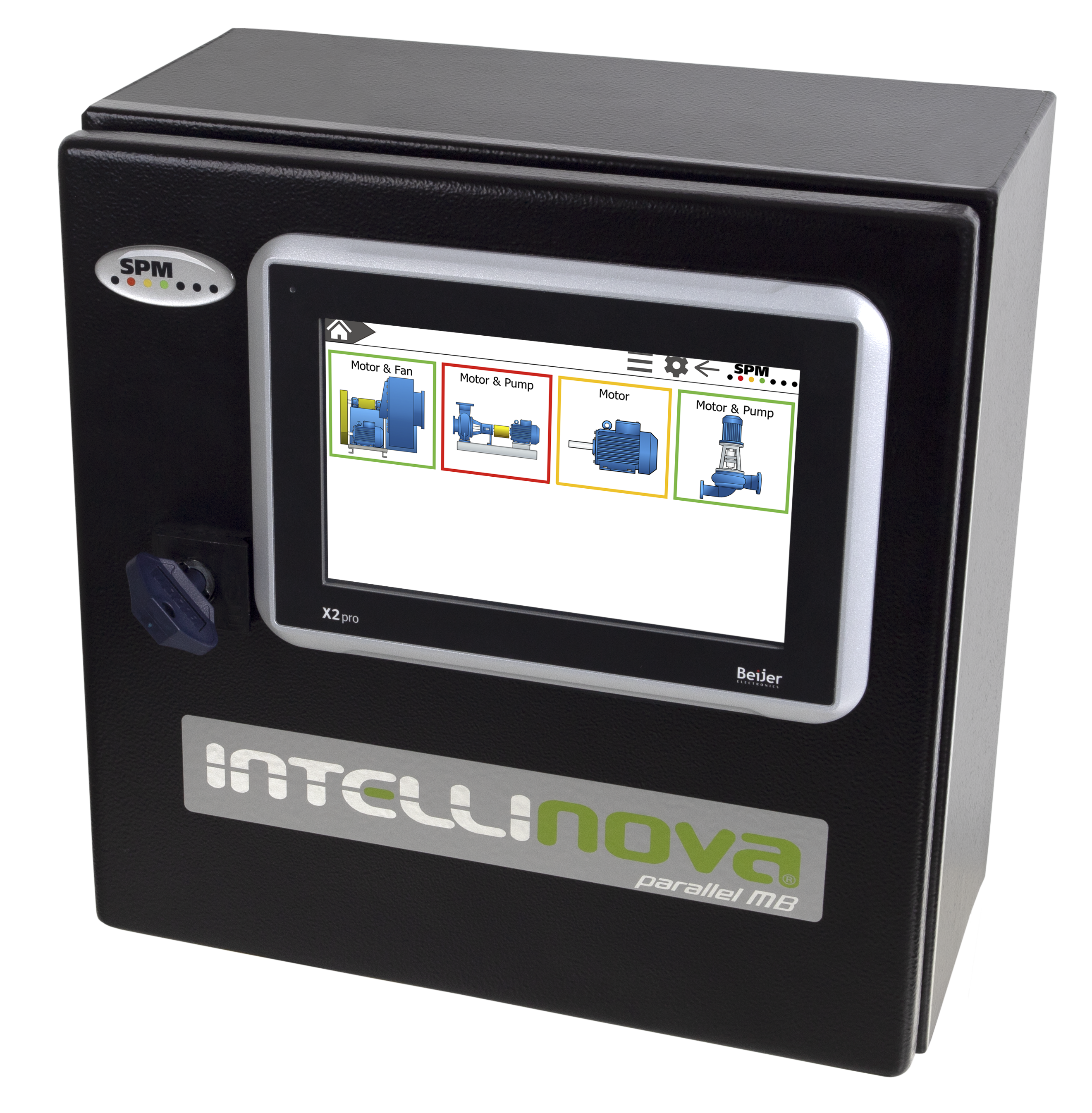 Online system Intellinova Parallel MB with HMI display